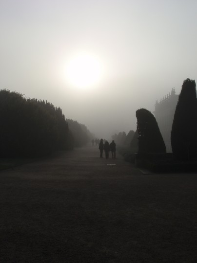 Foggy Day at Chatsworth
